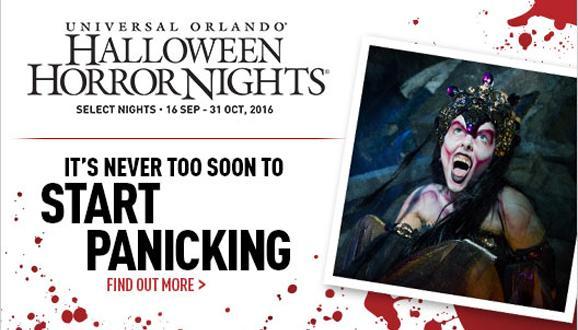 Universal Orlando® Halloween Horror Nights 2016