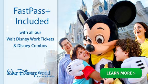 Disney FastPass+ Included with all Walt Disney World Tickets