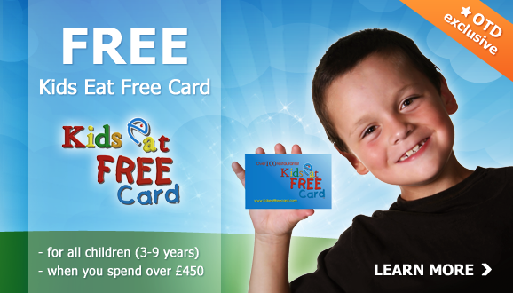 Free Kids Eat Free Card for every Child