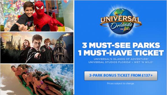 Great Value Universal Orlando Tickets!