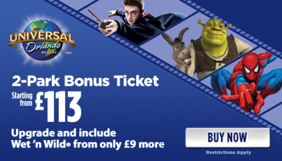 Great Value Universal Orlando Tickets!