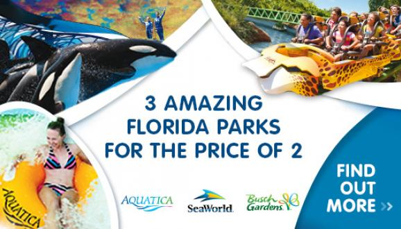 3-Parks for the Price of 2!