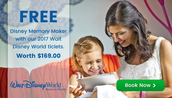 Disney Memory Maker worth $169* built into Adult Disney Ultimate Tickets