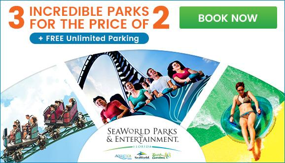 Get Unlimited FREE Parking At SeaWorld, Aquatica And Busch Gardens. Tag2018  Prices ...