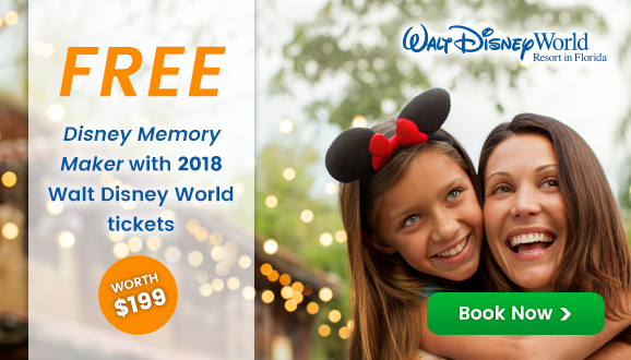 Disney Memory Maker worth $199 built into Adult Disney Ultimate Tickets