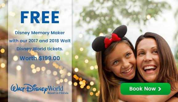 Get Disney Memory Maker worth $199* built into Adult Disney Ultimate Tickets