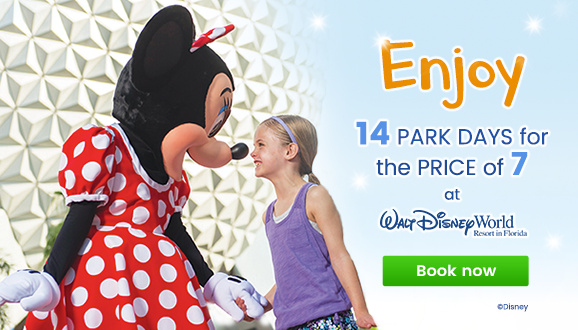 Disney's 14 Park Days for the Price of 7!