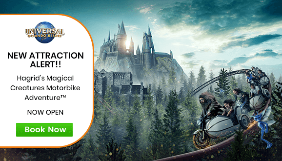 Hagrid's Magical Creatures Motorbike Adventure - NOW OPEN!