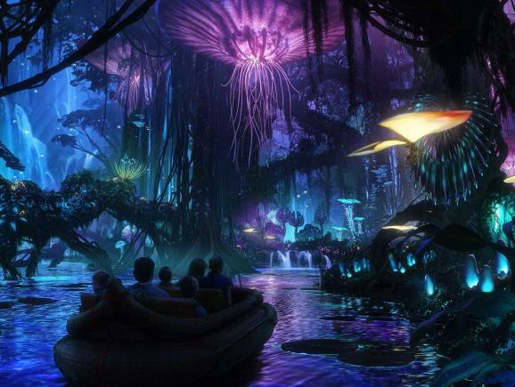 Avatar at Disney's Animal Kingdom Theme Park