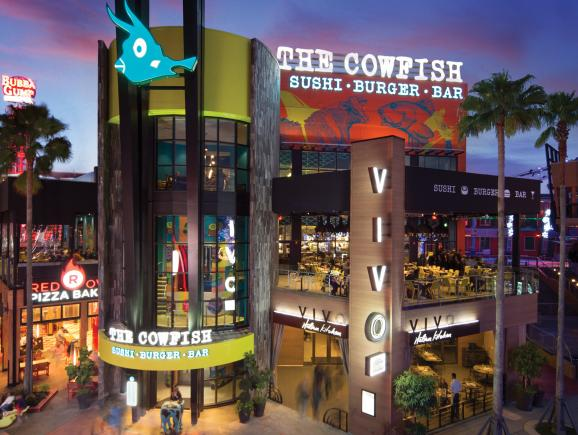 Universal CityWalk Cowfish