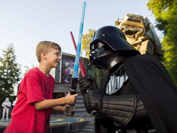Jedi Training at Disney's Hollywood Studios