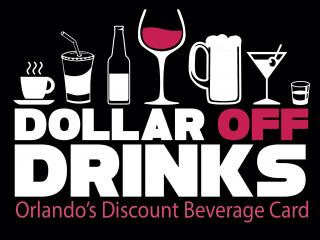 Dollar Off Drinks Card