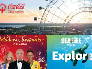 Madame Tussauds, SEA LIFE & Orlando Eye Combo Ticket