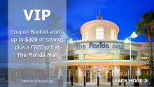 VIP Savings Card and Complimentary Gift at Florida Mall