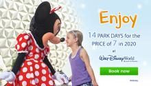 Walt Disney World Resort 14 for 7 Offer!