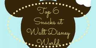 Top Snacks at Walt Disney World Resort  Top  Snacks at Walt Disney World Resort