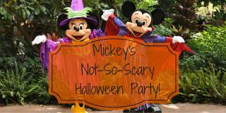 Mickey's Not-So-Scary Halloween Party at The Magic Kingdom