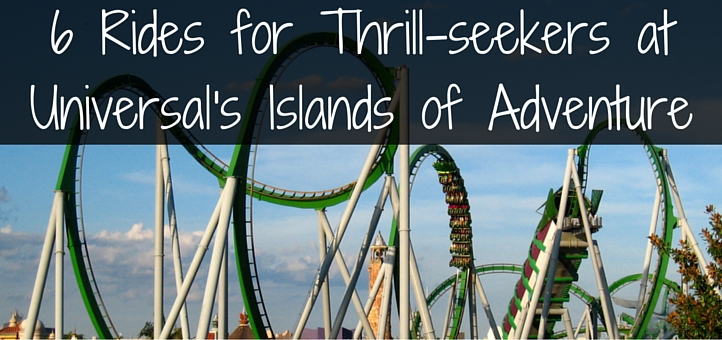 6 Rides For The Ultimate Thrill Seeker At Universal S