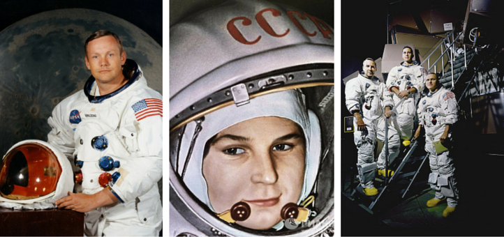 Beyond Neil Armstrong The World S Most Famous Astronauts